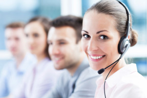 Live chat call center