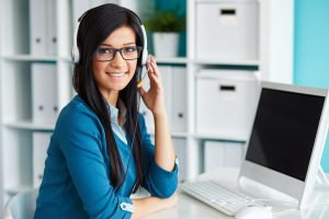 virtual receptionist call center north America